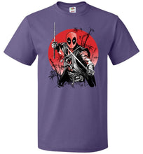 Load image into Gallery viewer, The Way Of The Mercenary Unisex T-Shirt - Purple / S - T-Shirt