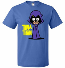 Load image into Gallery viewer, Tina Titan Unisex T-Shirt - Royal / S - T-Shirt