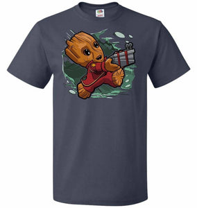 Tiny Groot Unisex T-Shirt - J Navy / S - T-Shirt