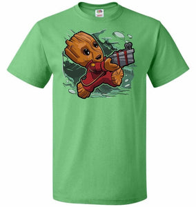 Tiny Groot Unisex T-Shirt - Kelly / S - T-Shirt