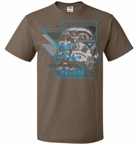 TK 421 Unisex T-Shirt - Chocolate / S - T-Shirt