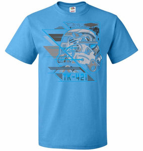 TK 421 Unisex T-Shirt - Pacific Blue / S - T-Shirt