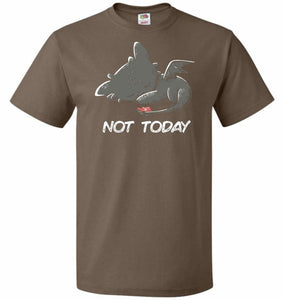 Toothless Not Today Unisex T-Shirt - Chocolate / S - T-Shirt