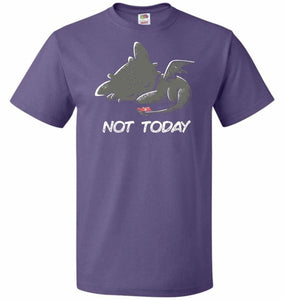 Toothless Not Today Unisex T-Shirt - Purple / S - T-Shirt