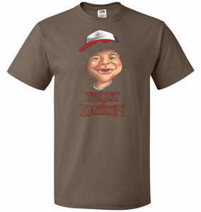 Trust In Dustin Unisex T-Shirt - Chocolate / S - T-Shirt