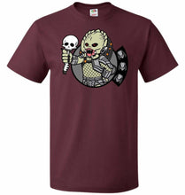 Load image into Gallery viewer, Vault Predator Unisex T-Shirt - Maroon / S - T-Shirt