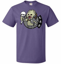 Load image into Gallery viewer, Vault Predator Unisex T-Shirt - Purple / S - T-Shirt