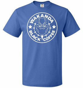 Wakanda Black Coffee Unisex T-Shirt - Royal / S - T-Shirt