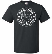 Load image into Gallery viewer, Wakanda Black Coffee Unisex T-Shirt - Black / S - T-Shirt