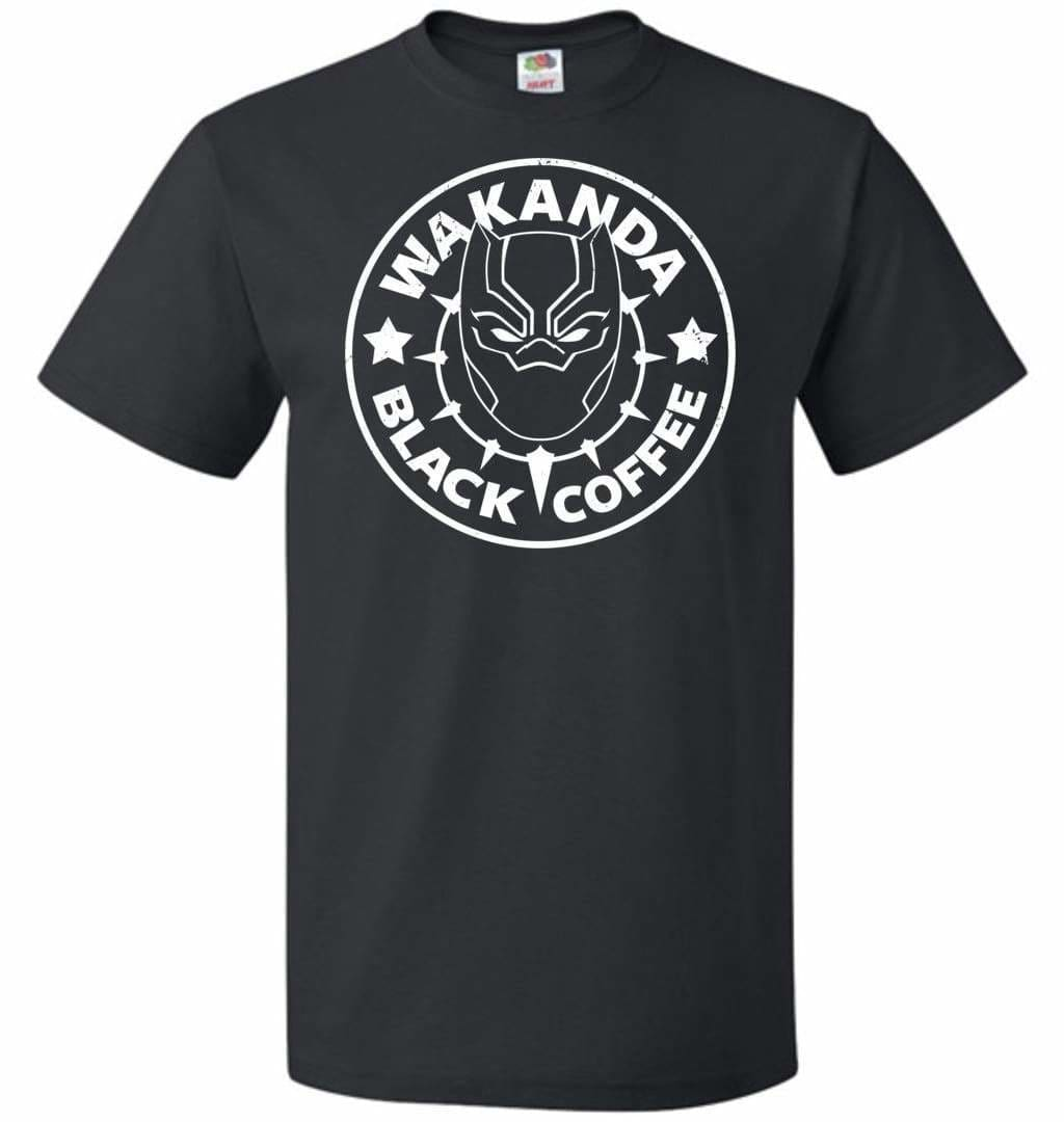 Wakanda Black Coffee Unisex T-Shirt - Black / S - T-Shirt