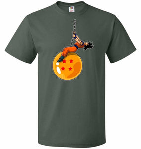 Wrecking Dragonball Unisex T-Shirt - Forest Green / S - T-Shirt