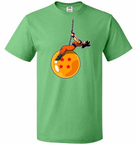 Wrecking Dragonball Unisex T-Shirt - Kelly / S - T-Shirt