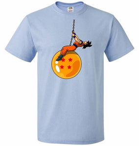 Wrecking Dragonball Unisex T-Shirt - Light Blue / S - T-Shirt