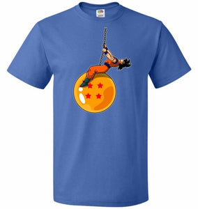 Wrecking Dragonball Unisex T-Shirt - Royal / S - T-Shirt