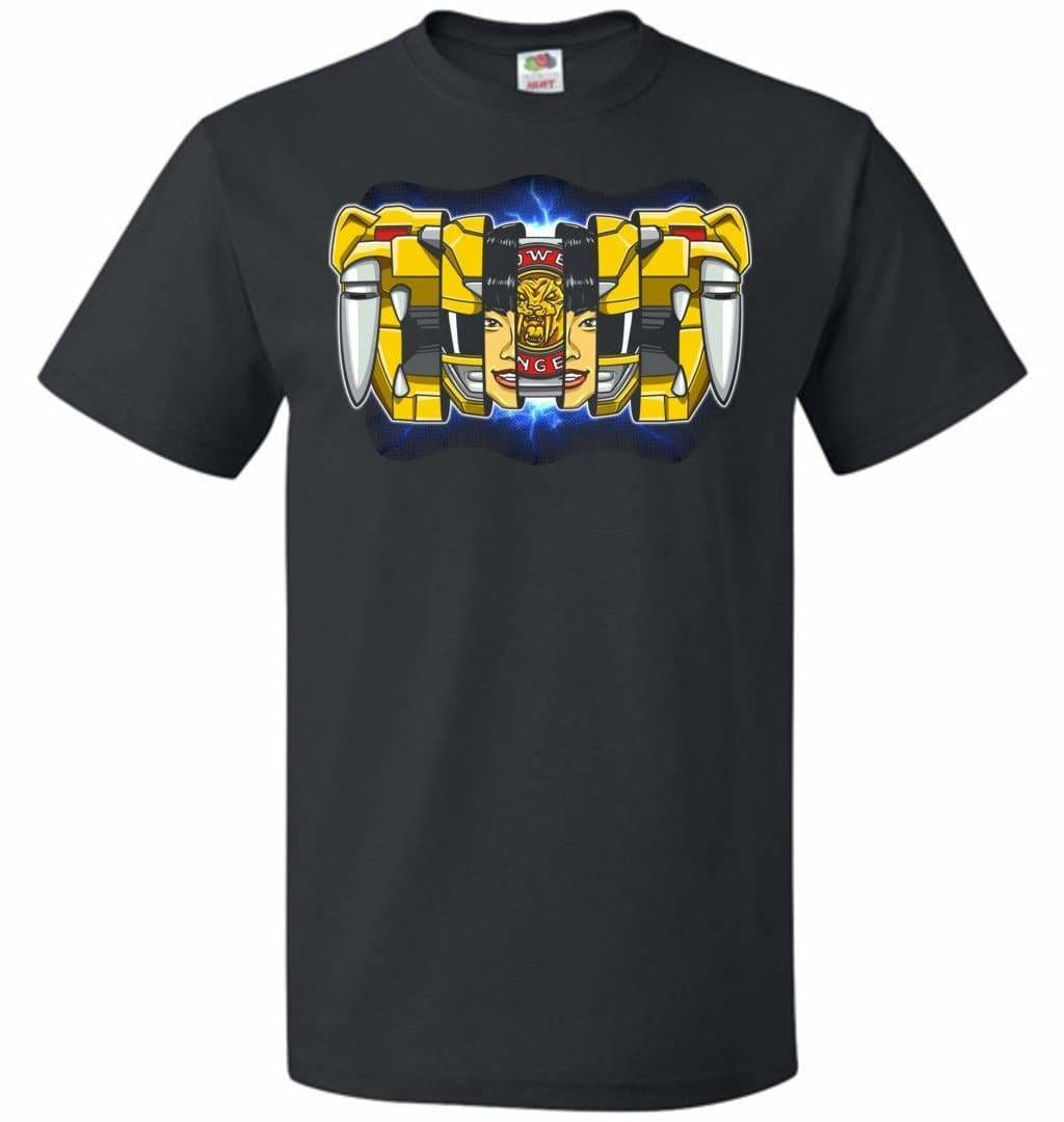 Yellow Ranger Unisex T-Shirt - Black / S - T-Shirt