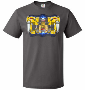 Yellow Ranger Unisex T-Shirt - Charcoal Grey / S - T-Shirt