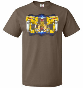 Yellow Ranger Unisex T-Shirt - Chocolate / S - T-Shirt