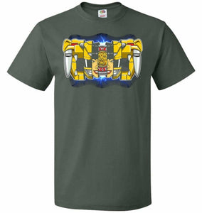 Yellow Ranger Unisex T-Shirt - Forest Green / S - T-Shirt