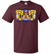 Load image into Gallery viewer, Yellow Ranger Unisex T-Shirt - Maroon / S - T-Shirt