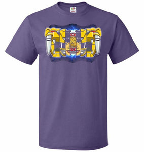 Yellow Ranger Unisex T-Shirt - Purple / S - T-Shirt