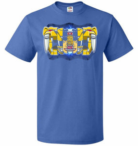 Yellow Ranger Unisex T-Shirt - Royal / S - T-Shirt