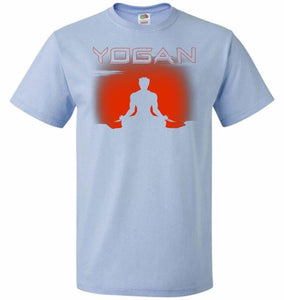 Yogan Unisex T-Shirt - Light Blue / S - T-Shirt
