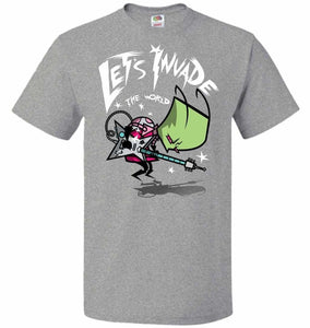Zim Pilgrim Unisex T-Shirt - Athletic Heather / S - T-Shirt