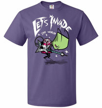 Load image into Gallery viewer, Zim Pilgrim Unisex T-Shirt - Purple / S - T-Shirt