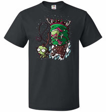 Load image into Gallery viewer, Zime That Stole Christmas Unisex T-Shirt - Black / S - T-Shirt