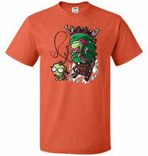 Load image into Gallery viewer, Zime That Stole Christmas Unisex T-Shirt - Burnt Orange / S - T-Shirt