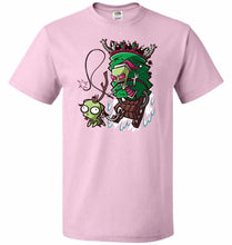 Load image into Gallery viewer, Zime That Stole Christmas Unisex T-Shirt - Classic Pink / S - T-Shirt
