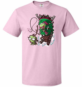 Zime That Stole Christmas Unisex T-Shirt - Classic Pink / S - T-Shirt