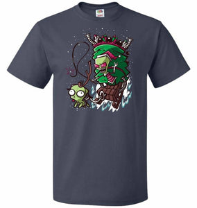 Zime That Stole Christmas Unisex T-Shirt - J Navy / S - T-Shirt