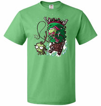 Load image into Gallery viewer, Zime That Stole Christmas Unisex T-Shirt - Kelly / S - T-Shirt