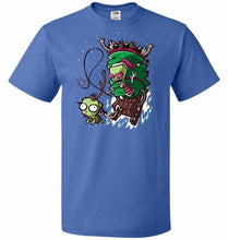Load image into Gallery viewer, Zime That Stole Christmas Unisex T-Shirt - Royal / S - T-Shirt