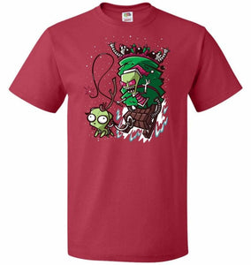 Zime That Stole Christmas Unisex T-Shirt - True Red / S - T-Shirt
