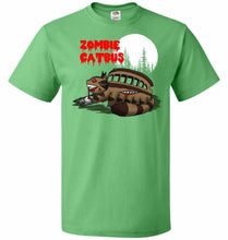 Load image into Gallery viewer, Zombie Catbus Unisex T-Shirt - Kelly / S - T-Shirt