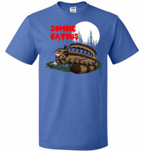 Load image into Gallery viewer, Zombie Catbus Unisex T-Shirt - Royal / S - T-Shirt