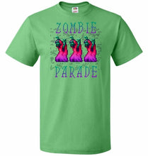 Load image into Gallery viewer, Zombie Parade Unisex T-Shirt - Kelly / S - T-Shirt