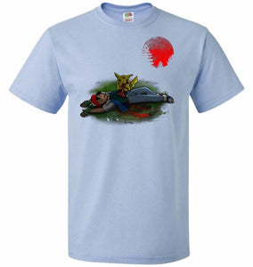 Zombie Pikachu Unisex T-Shirt - Light Blue / S - T-Shirt