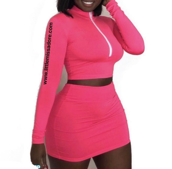 KHLOE MINI SKIRT | SET