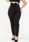 KNOT WORTH MY TIME FORMAL PANTS | (PLUS SIZE)