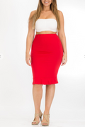 HYPNOTIZE HIM PENCIL SKIRT | (PLUS SIZE)