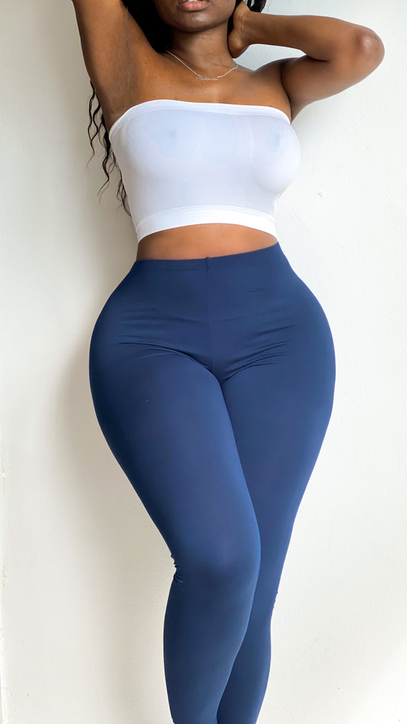 COTTON STRETCH LEGGINGS