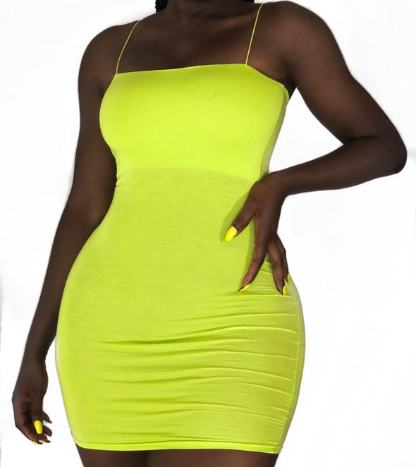 SINFUL BODYCON MINI | DRESS