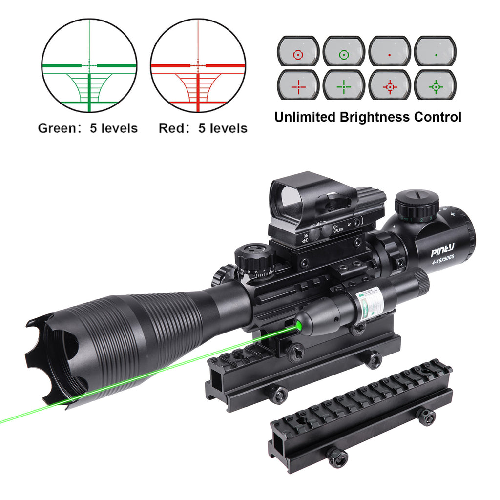 Rifle Scope Combo