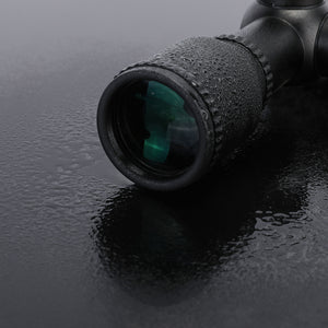 4X32mm Band Crystal Lenses Rifle Scope For Any Crossbows Shot Guns Flip Up Caps
