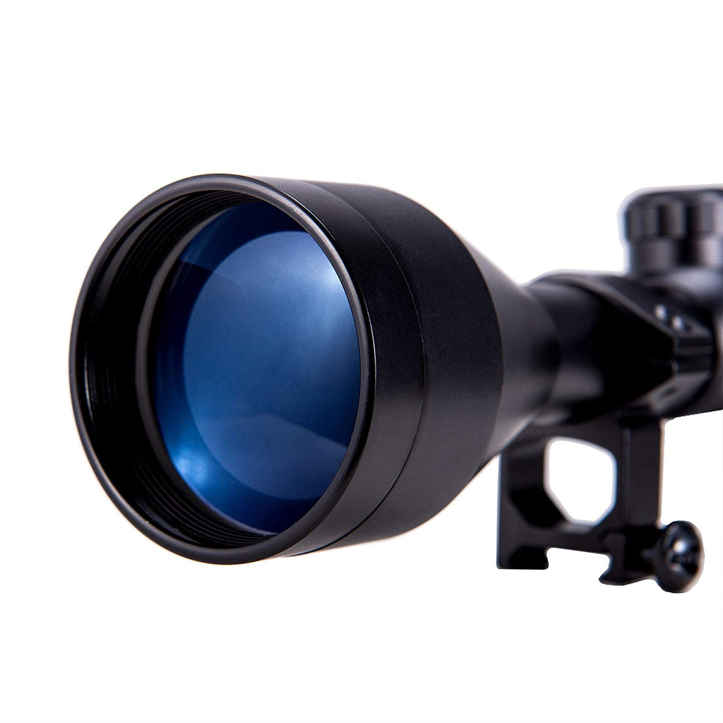 Pinty 3-9x50mm Red/Green Rangefinder Hunting Rifle Scope
