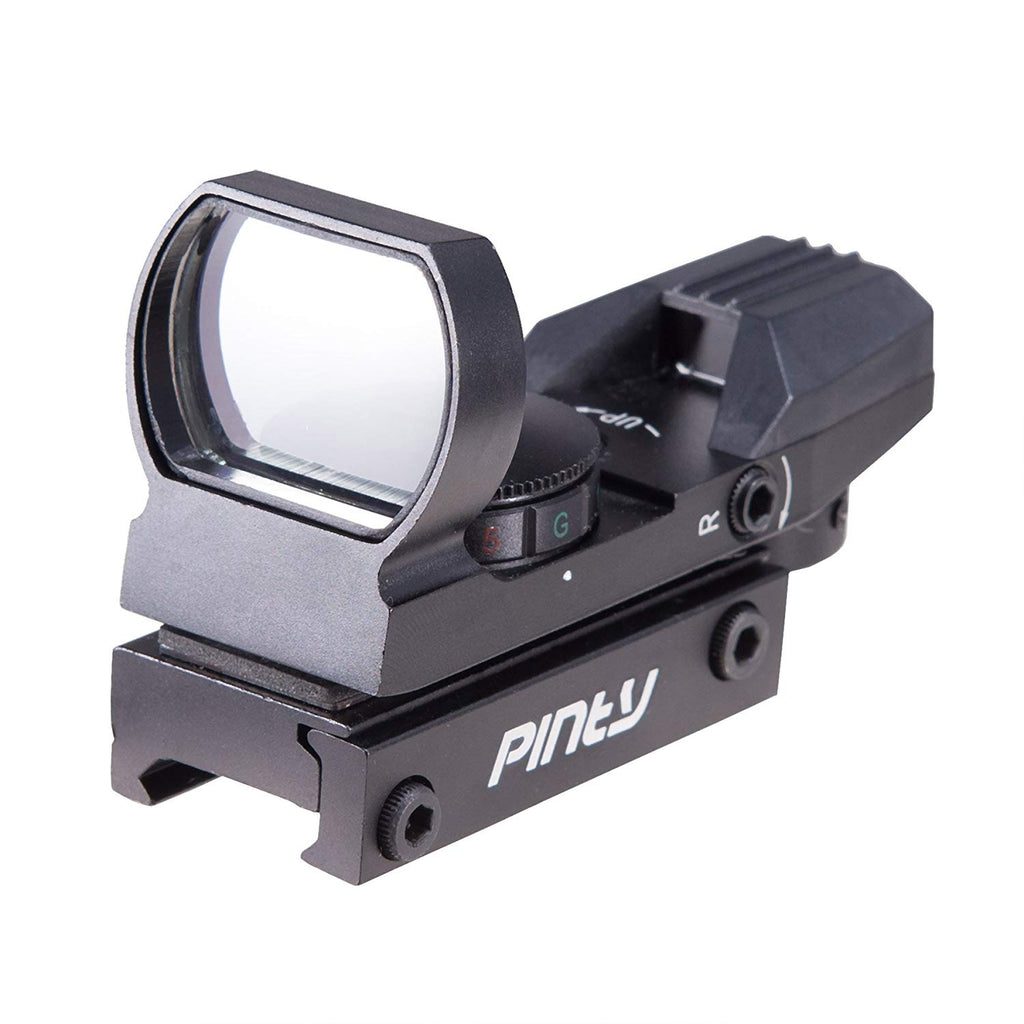 Pinty Red/Green Dot Sight Reflex Holographic Tactical Riflescope Combo