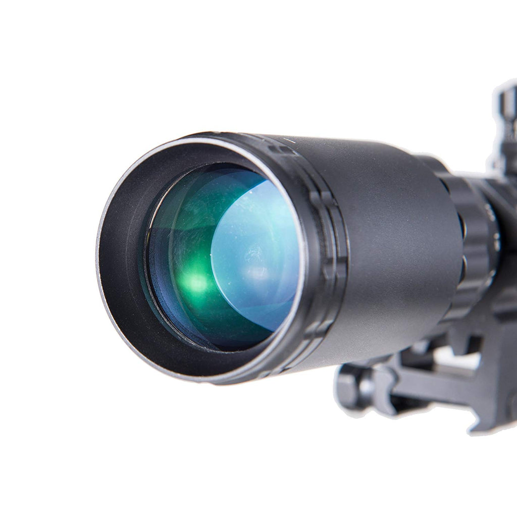 Pinty 3-9X40mm Red/Green/Blue Rifle Scope